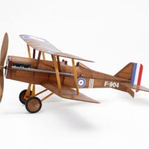 model biplane raf
